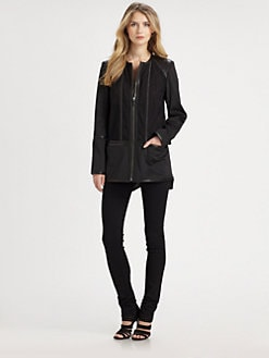 Ashley B - Paneled Jacket