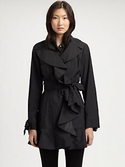 Cole Haan - Packable Ruffle Jacket