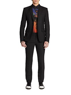 Givenchy - Two-Button Wool Suit