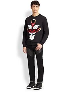 Givenchy - Tribal Print Felt Sweatshirt