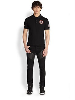 Givenchy - Cuban Tribal Patch Polo