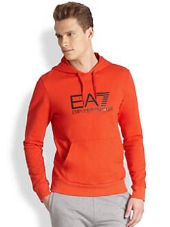 EA7 Emporio Armani - Logo Hoodie Sweatshirt