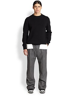 Givenchy - Contrasting Panel Wool Sweater