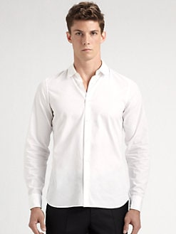 Jil Sander - Fitted Stretch Cotton Sportshirt