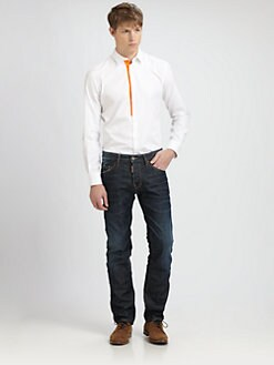 DSQUARED - Orange Tape Sportshirt