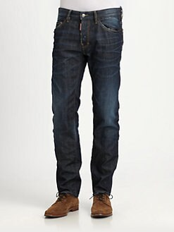 DSQUARED - Dean Straight-Leg Jeans