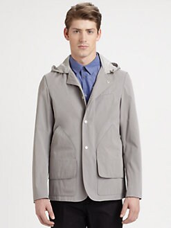 Jil Sander - Hooded Hunting Jacket
