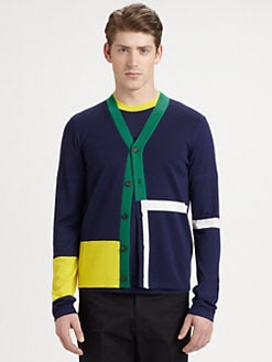 Jil Sander - Colorblock Cardigan