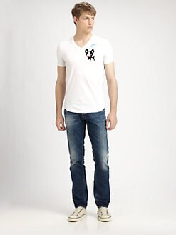 DSQUARED - Slim-Fit V-Neck Tee