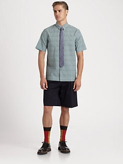 Marni - Geometric Cotton Shirt
