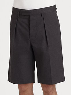 Marni - Pleated Twill Shorts