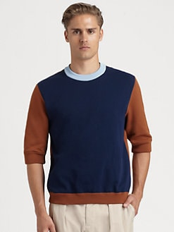 Marni - Colorblock Crewneck Sweater