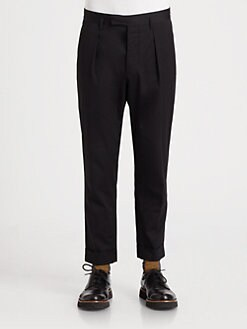 Marni - Pleated Twill Pants