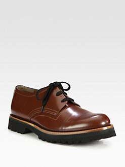 Marni - Leather Lace-Ups