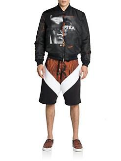 Givenchy - Reversible Printed Bomber Jacket