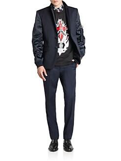 Givenchy - Mixed-Media Blazer