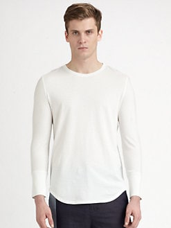 3.1 Phillip Lim - Cotton Knit Long-Sleeve T-Shirt