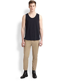 3.1 Phillip Lim - Cotton Knit Loose-Fit Tank Top