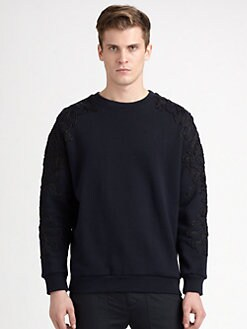 3.1 Phillip Lim - Cotton Metallic-Trimmed Top