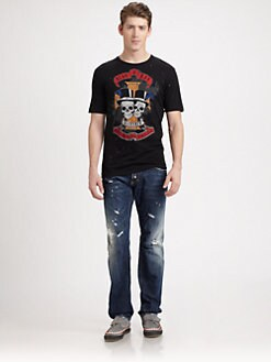 DSQUARED - Skull Tee