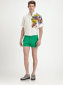 DSQUARED - Printed Sportshirt