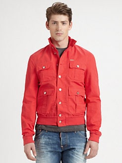 DSQUARED - Cotton Sports Jacket