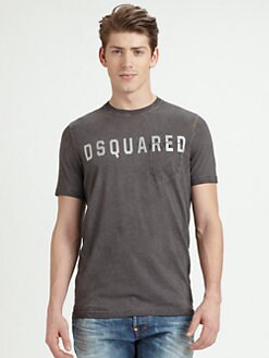 DSQUARED - Logo Cotton Tee