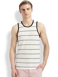 Band of Outsiders - Striped Ringer Tank