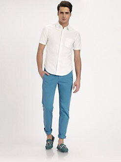 Band of Outsiders - Solid Oxford Sportshirt