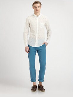 Band of Outsiders - Sailboat Oxford Sportshirt