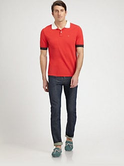 Band of Outsiders - Solid Pique Polo