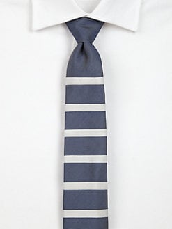 Band of Outsiders - Classic Striped Tie