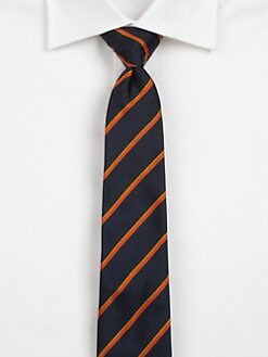 Band of Outsiders - Striped Silk Tie