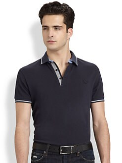 Emporio Armani - Pique Mercerized Polo