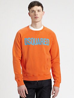 DSQUARED - Neon Logo Sweatshirt