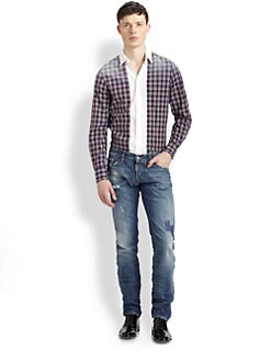 DSQUARED - Faded Plaid Sportshirt