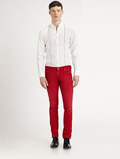 DSQUARED - Suspenders Carpenter Shirt