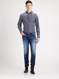 DSQUARED - Faded Tab Sportshirt