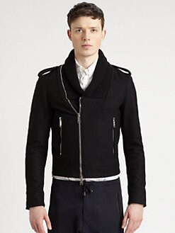 DSQUARED - Knitted Shawl Collar Jacket