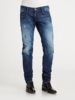 DSQUARED - The Blues Slim-Fit Jeans