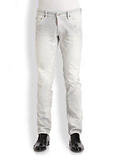 DSQUARED - Slim-Fit Distressed Jeans
