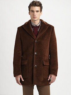 Viktor & Rolf - Alpaca/Virgin Wool Top Coat