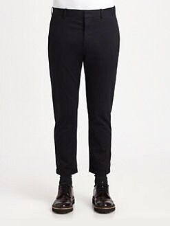 Marni - Woven Cotton Trousers