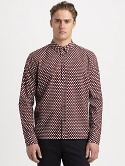 Marni - Printed Cotton Sportshirt