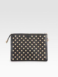 Marni - Perforated Leather Pochette