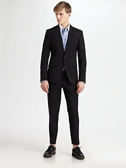 DSQUARED - Two-Button Notch Wool Suit