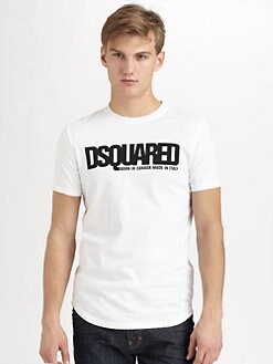 DSQUARED - Crewneck Tee