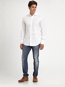 DSQUARED - Cotton Sportshirt