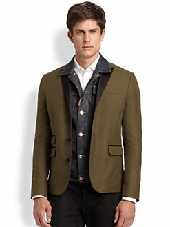DSQUARED - London Tux Jacket