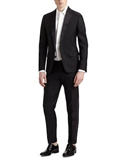 DSQUARED - Wool Peaked-Lapel Tuxedo
